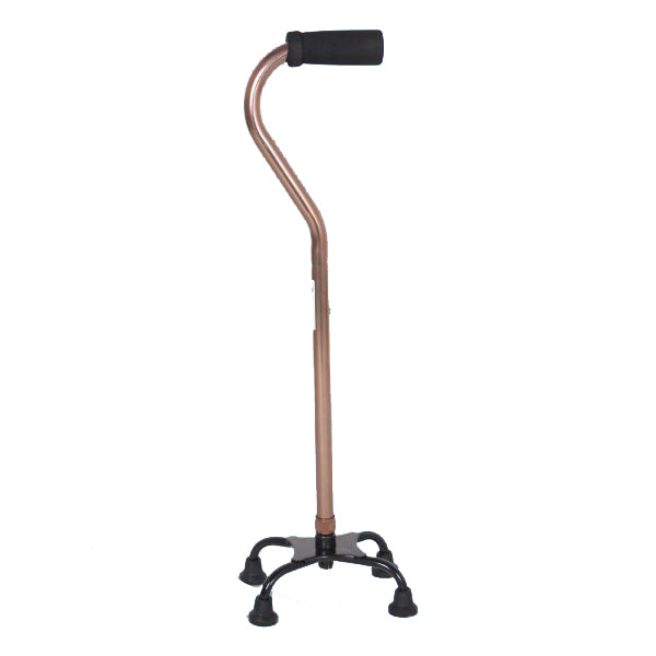 Walking Stick - Hero Mediva Aluminium Cane with Broad Base (Semi S Shape)   MHL - 2013