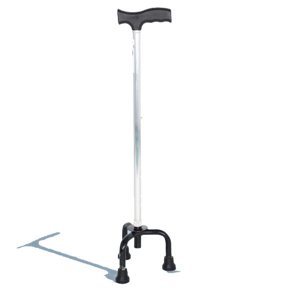 Walking Stick - Hero MedivaAluminium Cane with Broad Base (Aluminium) MHL 2008