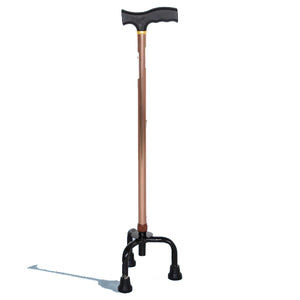 Walking Stick - Hero MedivaAluminium Cane with Broad Base (Brown) MHL 2008 BR