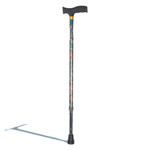 Walking Stick - Hero Mediva T‐Shape Aluminum laser printing Fashion Cane  MHL - 2016