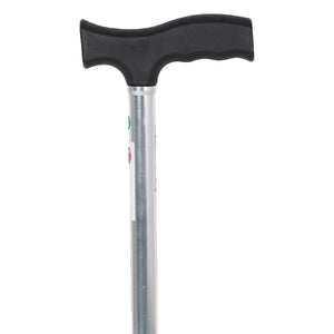 Walking Stick - Hero Mediva Aluminium Cane with Broad Base (Aluminium)     MHL - 2010