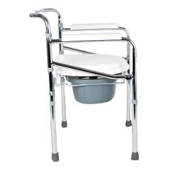 Commode Chair - Hero Mediva Commode Chair with Height Adj and Arms   MHL - 3002