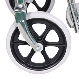 Economical Wheelchair - Chrome Plated - Hero Mediva MHL 1002