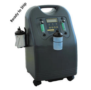 Dual Flow Aspen Oxygen Concentrator 5LPM with 1 year Warranty - Ready Stock