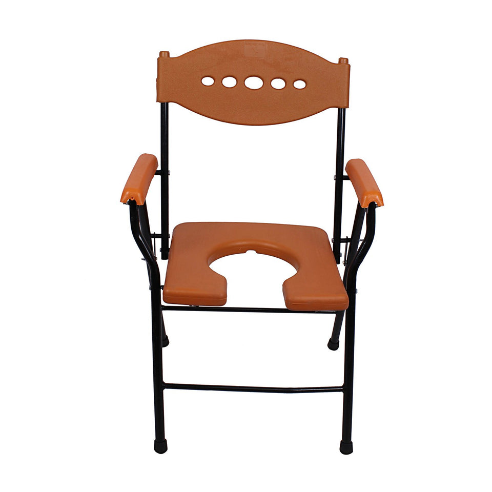 Commode Chair - Orange