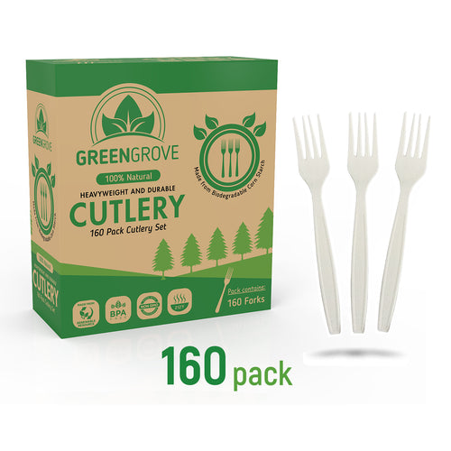 compostable plastic forks