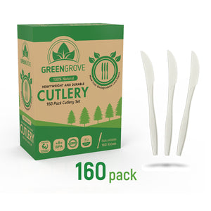 compostable plastic knives