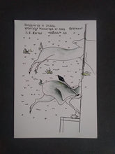 Load image into Gallery viewer, DRAWING WORK, DEER, RUNNING, FIGURATIVE