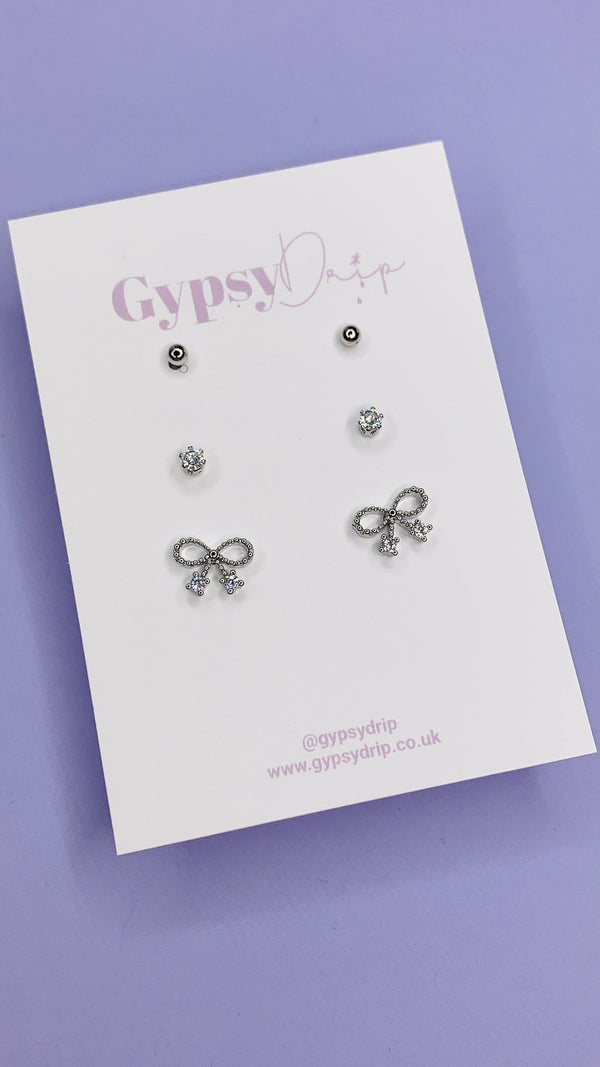 Bow Stud Set