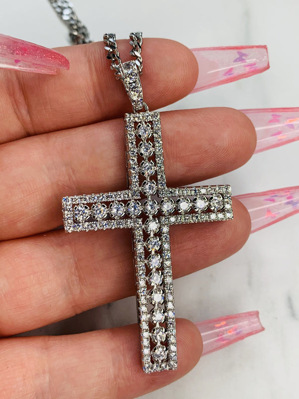 Ava Cross Necklace
