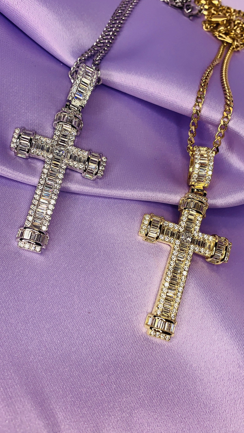 Catalina Cross Necklace