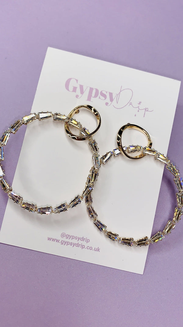 Lyra Hoop Earrings