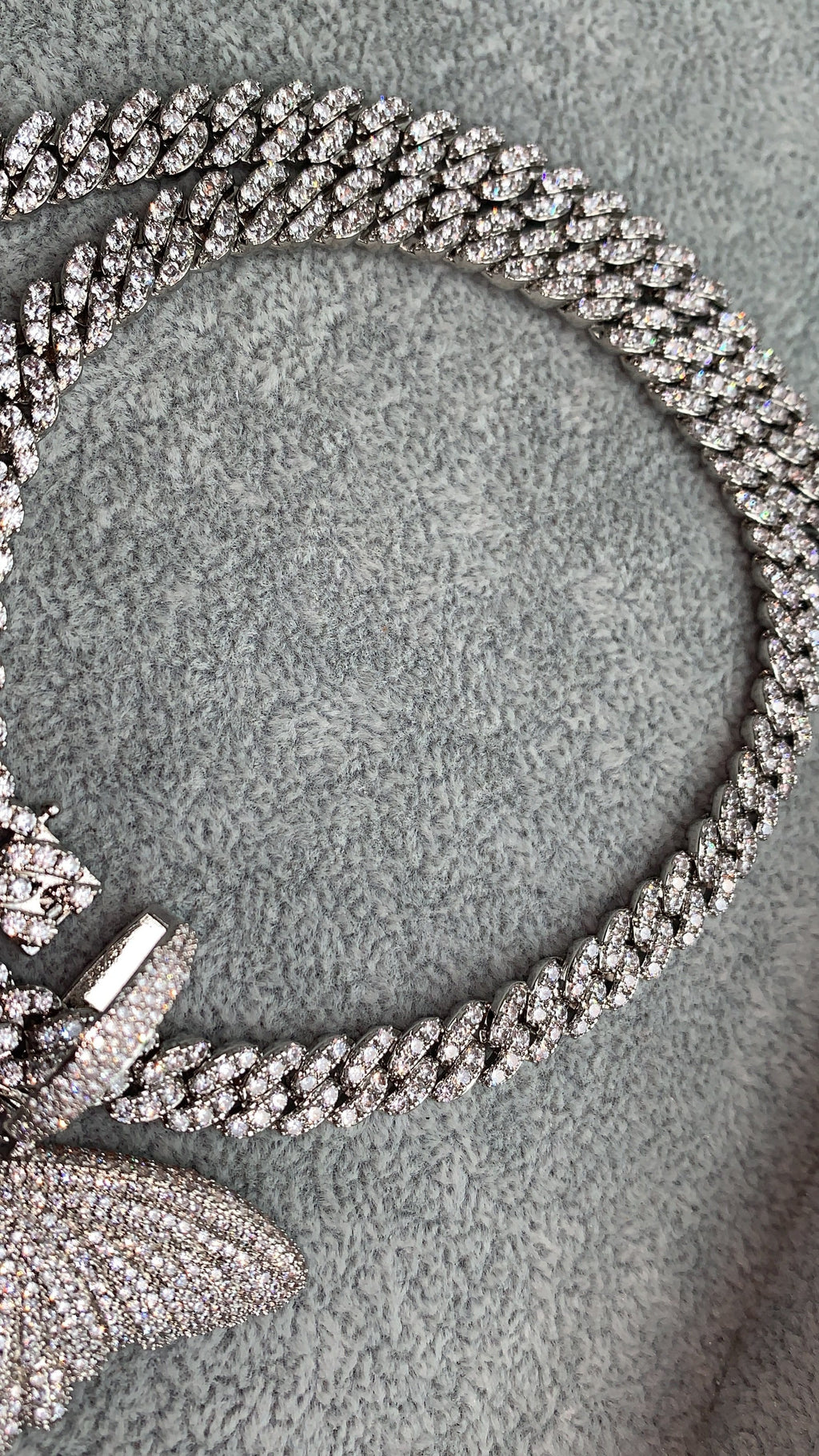 Lola Necklace Crystal