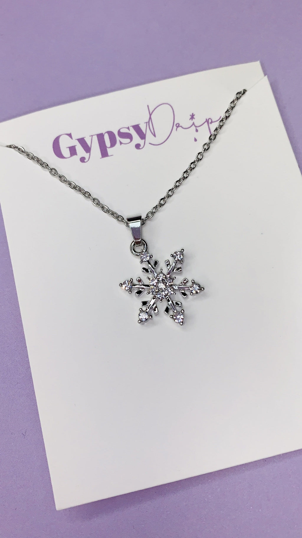 Frosty Necklace