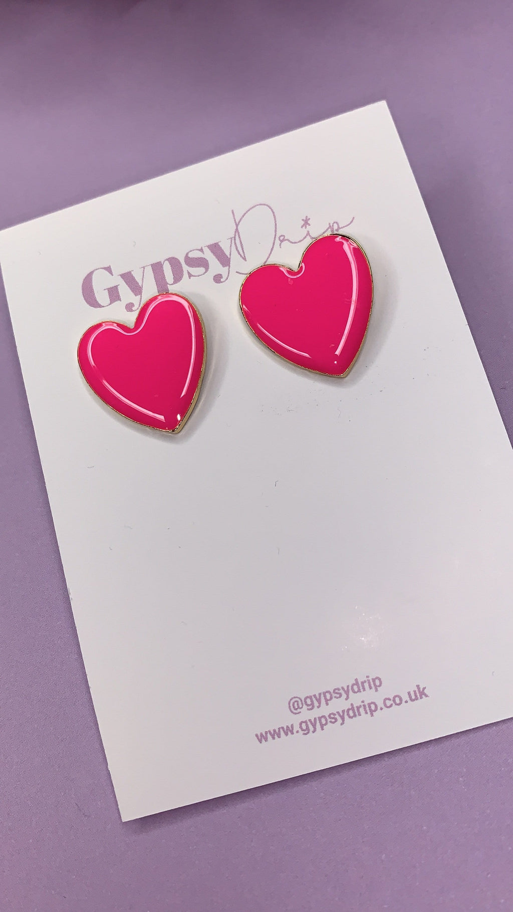 Lucy Heart Studs