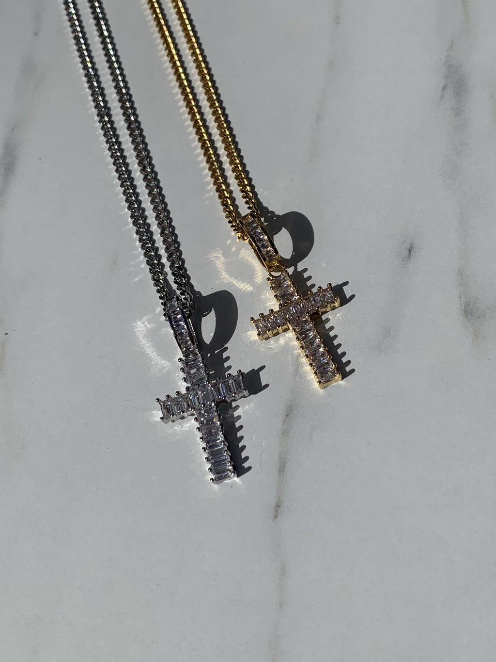 Saint Cross Necklace Silver