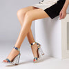 Clear Transparent High Heels