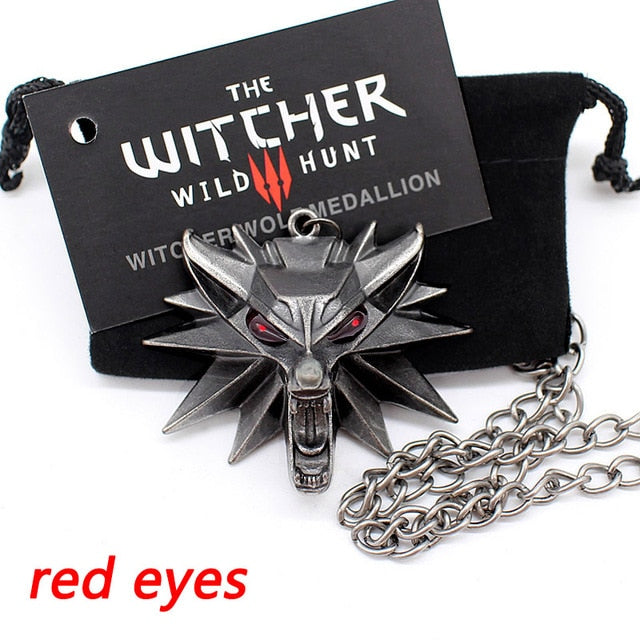 The Witcher 3 Pendant Necklace