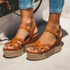 Women Wedges Sandals Shoes  Plus Size 43