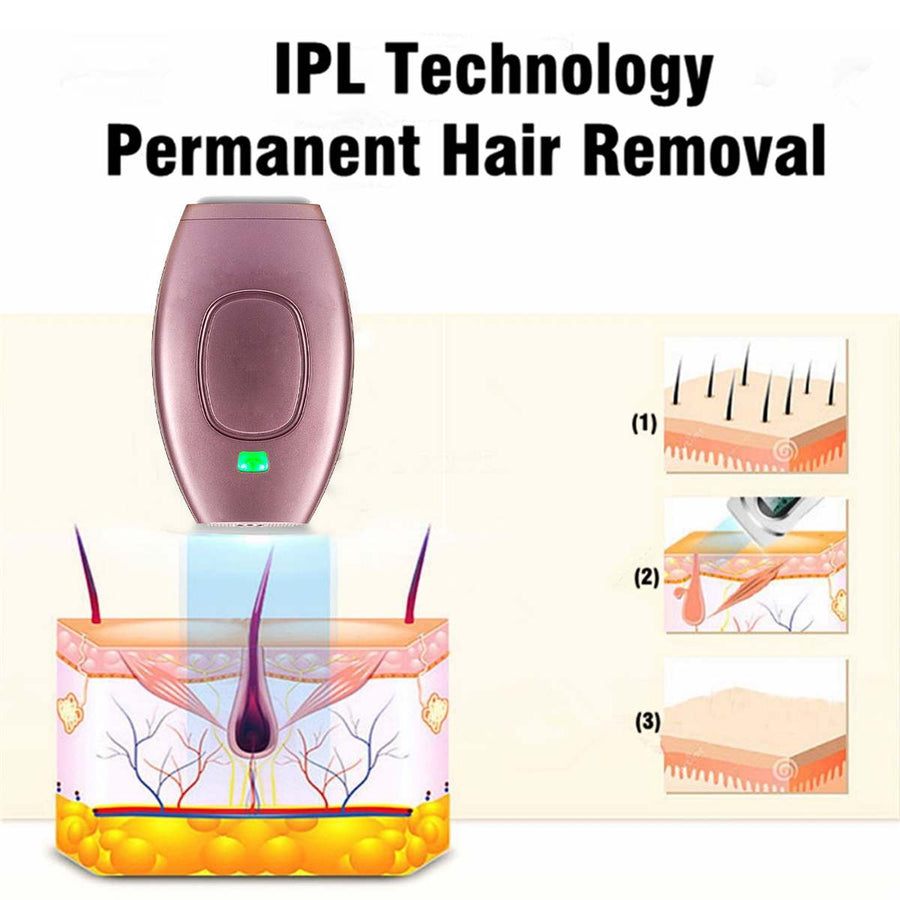 IPL Laser Epilator Portable Full Body Hair Removal