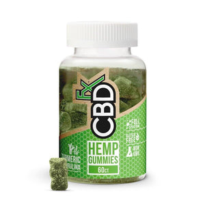 CBDfx Antioxidant Gummies with Turmeric & Spirulina 300mg CBD Edibles