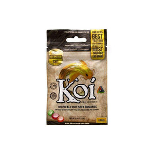 Koi CBD Gummies | Tropical Fruit CBD Edibles