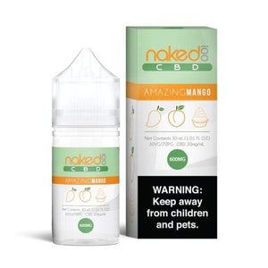 Naked 100 Amazing Mango CBD | Mango Peach & Cream CBD Juice