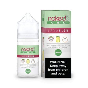 Naked 100 Lava Flow CBD | Strawberry Piña Colada CBD Juice