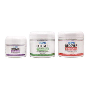 CBDMD Recover Inflammation Cream CBD Topicals