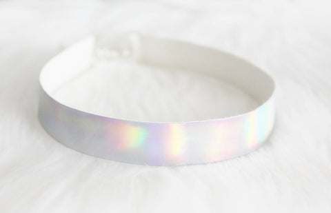 holographic necklace choker