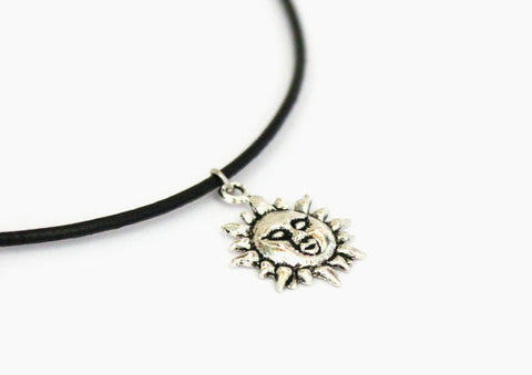 mathilda leon sun necklace