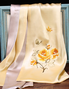 Scarf Rose Yellow