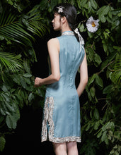 Load image into Gallery viewer, Silk Organza Qipao Cheongsam