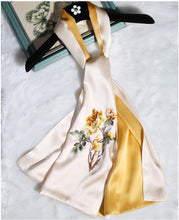 Load image into Gallery viewer, Scarf Plumeria Yellow