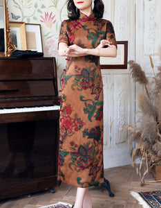 Fragrant Cloud Yarn Vanity Qipao Cheongsam