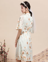 Load image into Gallery viewer, Virescence Openwork Qipao Cheongsam