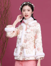 Load image into Gallery viewer, Jacquard Winter Qipao Cheongsam