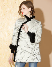 Load image into Gallery viewer, Winter Short Qipao Cheongsam
