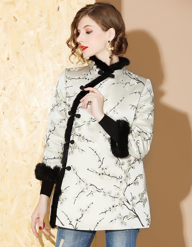 Winter Short Qipao Cheongsam