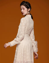 Load image into Gallery viewer, White Pure Qipao Cheongsam