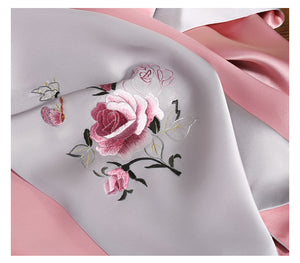 Scarf Rose Silver