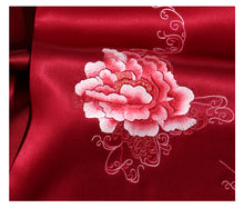 Load image into Gallery viewer, Scarf Peony Wine