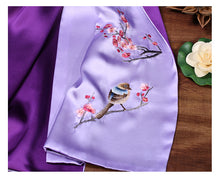 Load image into Gallery viewer, Scarf Magpie Purple