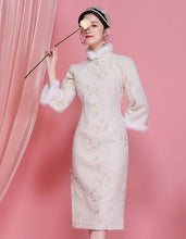 Load image into Gallery viewer, Round Placket Qipao Cheongsam