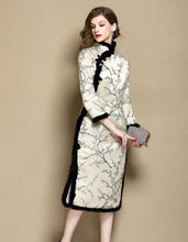 Load image into Gallery viewer, Winter Long Qipao Cheongsam
