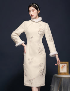 White Dream Qipao Cheongsam