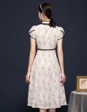 Load image into Gallery viewer, Pearl Lace Qipao Cheongsam