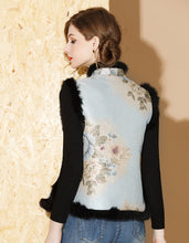 Load image into Gallery viewer, Winter Vest Qipao Cheongsam