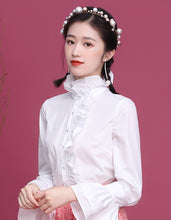 Load image into Gallery viewer, White Soft Qipao Cheongsam