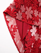 Load image into Gallery viewer, Red Leaves Qipao Cheongsam